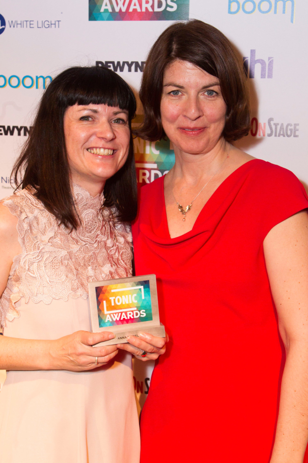 <p>Anna Newell and Moira Buffini</p><br />© Dan Wooller for WhatsOnStage