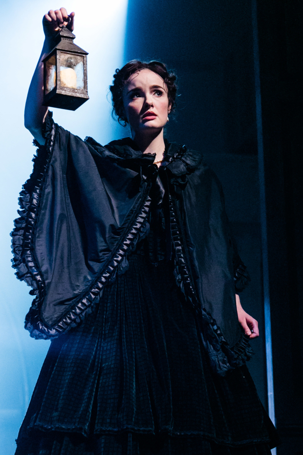 <p>Anna O&#39&#x3B;Byrne (Laura Fairlie) in <em>The Woman in White</em></p><br />© Darren Bell
