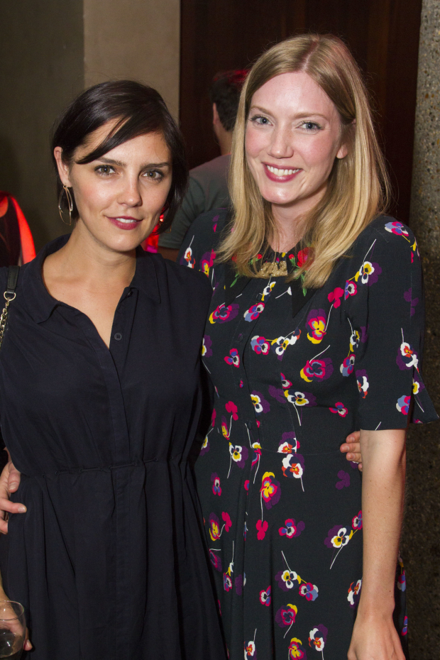 <p>Annabel Scholey and Robyn Addison</p><br />@ Dan Wooller for WhatsOnStage