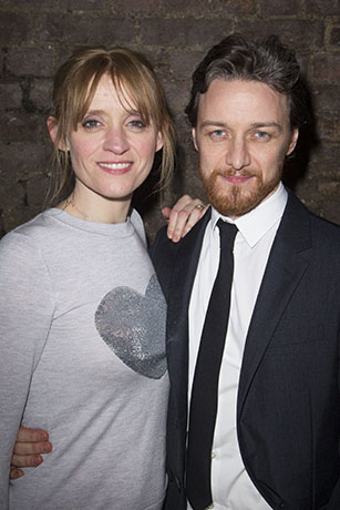 <p>Anne-Marie Duff and James McAvoy</p><br />Dan Wooller for WhatsOnStage