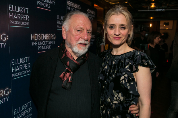<p>Anne-Marie Duff (Georgie Burns),and Kenneth Cranham (Alex Priest)</p><br />© Dan Wooller for WhatsOnStage