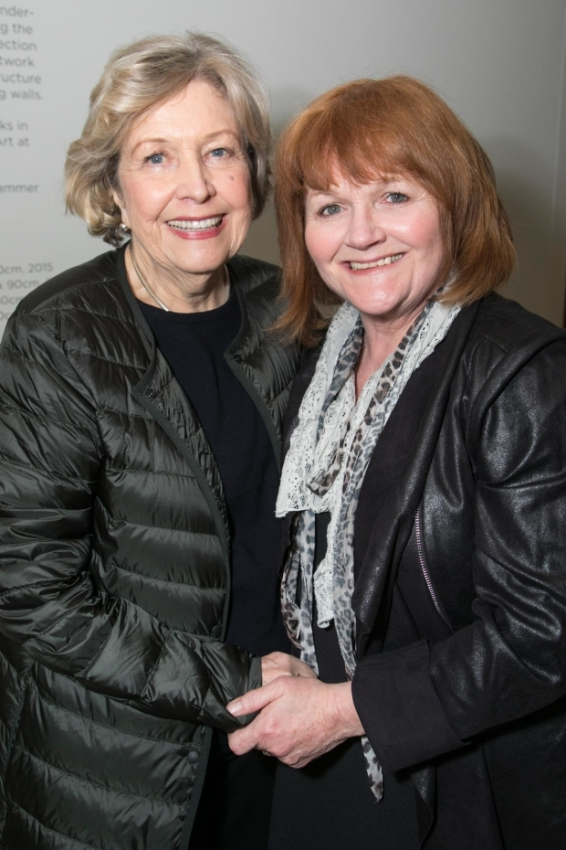 <p>Anne Reid and Lesley Nicol (Mother)</p><br />©  Dan Wooller for WhatsOnStage