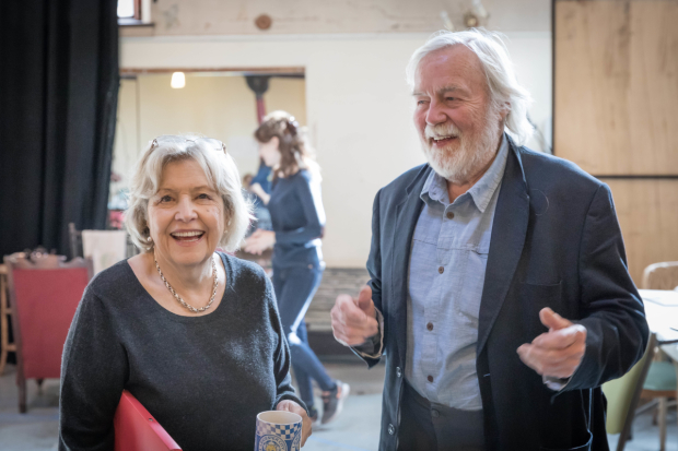 <p>Anne Reid (Lady Hunstanton) and William Gaunt (Archdeacon Daubeny)</p><br />© Marc Brenner