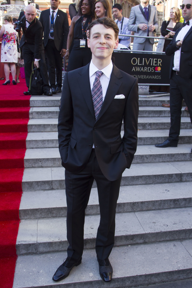 <p>Anthony Boyle</p><br />© Dan Wooller for WhatsOnStage