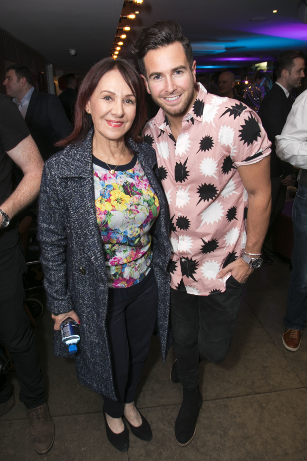 <p>Arlene Phillips and Aaron Renfree (choreographer) </p><br />© Dan Wooller