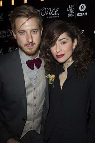 <p>Arthur Darvill and Zrinka Cvitesic</p><br />© Dan Wooller for WhatsOnStage