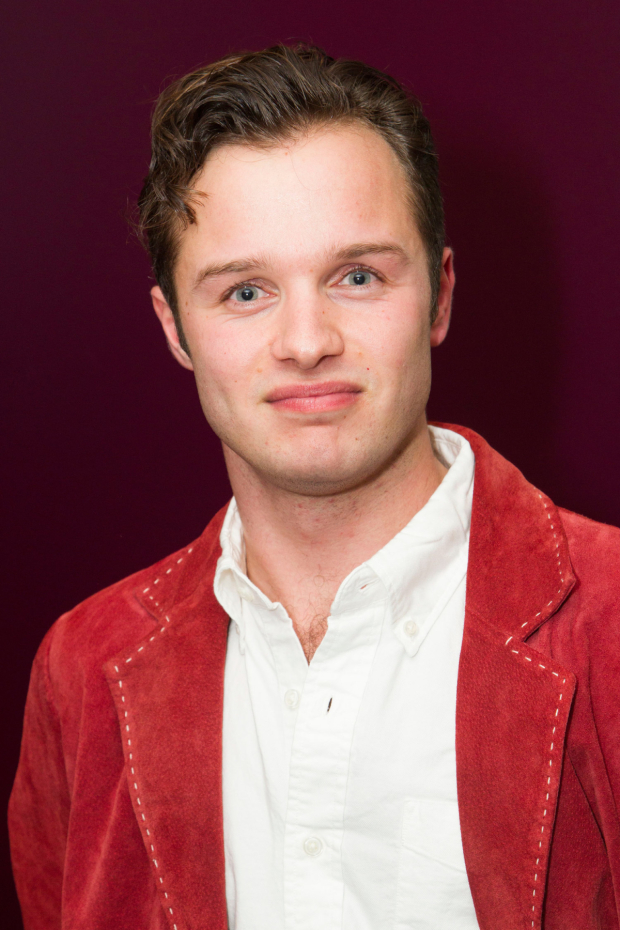 <p>Arthur Hughes (Page/Ladvenu)</p><br />© Dan Wooller for WhatsOnStage