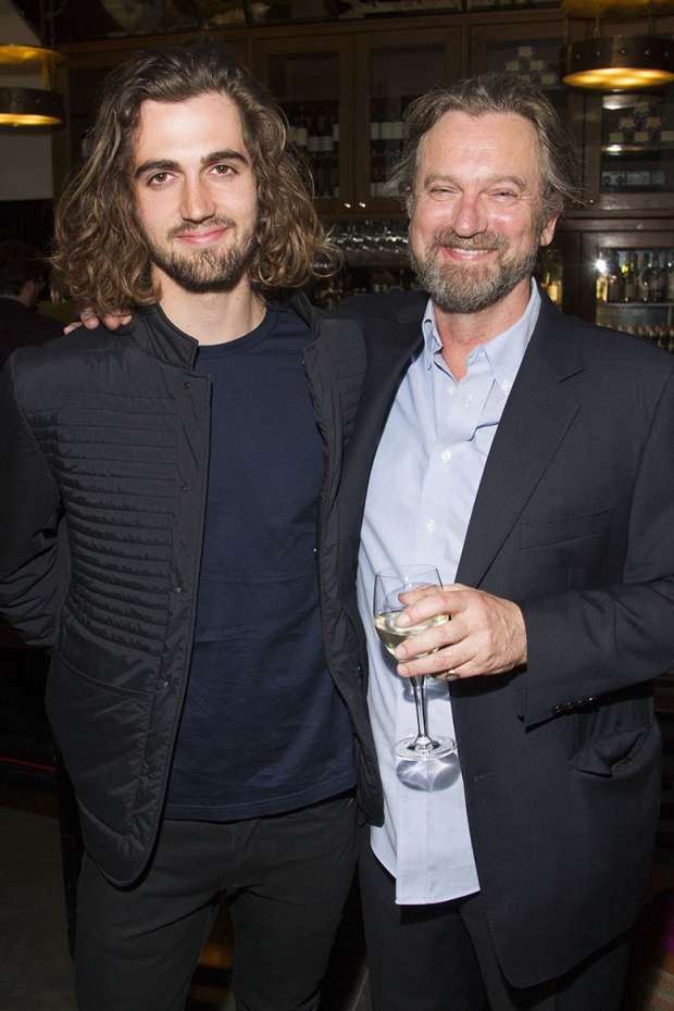 <p>Arthur Shepherd and Simon Shepherd</p><br />© Dan Wooller for WhatsOnStage