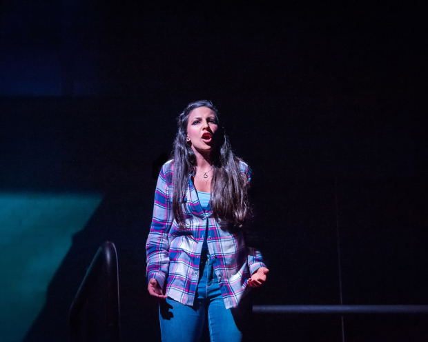 <p>Aryana Ramkhalawon as Devika in  <em>Ode to Leeds</em></p><br />© Anthony Robling