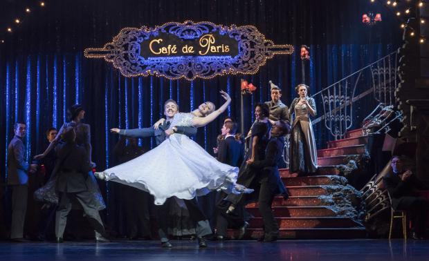 <p>Ashley Shaw as Cinderella, Andrew Monaghan as Harry and the company of <em>Matthew Bourne&#39&#x3B;s Cinderella</em></p><br />© Johan Persson