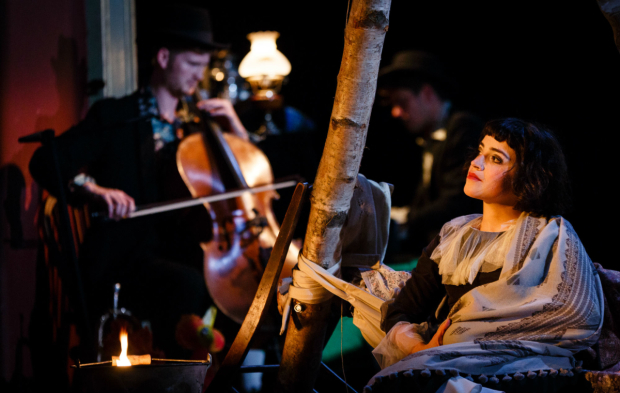 <p>Audrey Brisson as  Bella Chagall in <em>The Flying Lovers of Vitebsk</em></p><br />(C) Steve Tanner