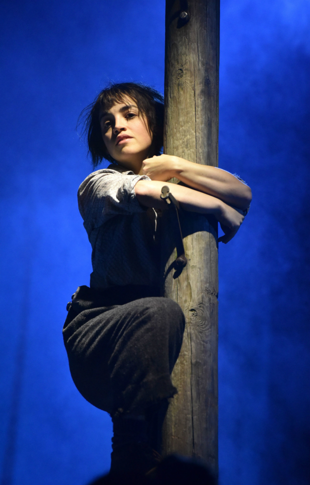 <p>Audrey Brisson in <em>La Strada</em></p><br />(c) Robert Day