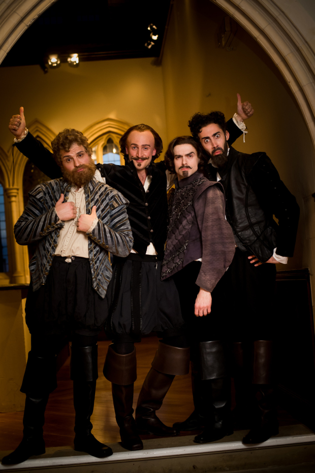 <p>Backstage at <em>Shakespeare Live! From the RSC</em></p><br />© David Tett