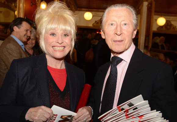 <p>Barbara Windsor with original cast member Murray Melvin</p><br />© Robert Day