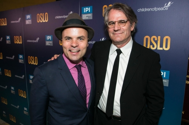 <p>Bartlett Sher (director) and JT Rogers (playwright)</p><br />© Dan Wooller for WhatsOnStage