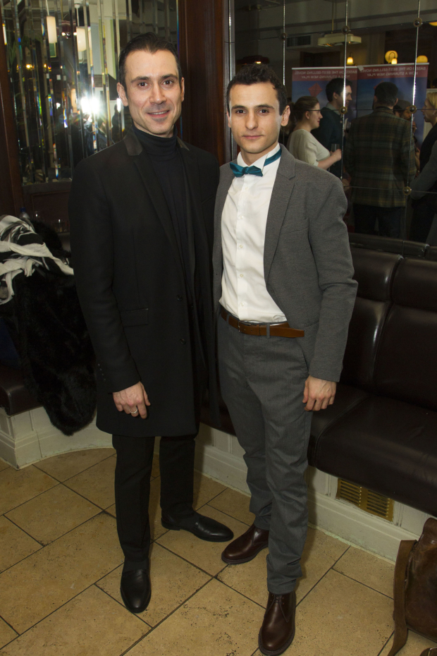 <p>Ben Turner (Amir) and Andrei Costin (Hassan/Sohrab)</p><br />© Dan Wooller for WhatsOnStage