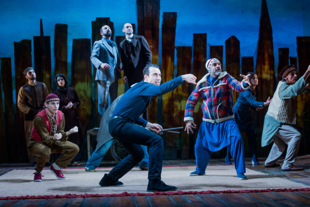 <p>Ben Turner and cast in <em>The Kite Runner</em></p><br />© Robert Workman