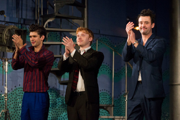 <p>Ben Whishaw, Rupert Grint and Daniel Mays</p><br />© Dan Wooller for WhatsOnStage