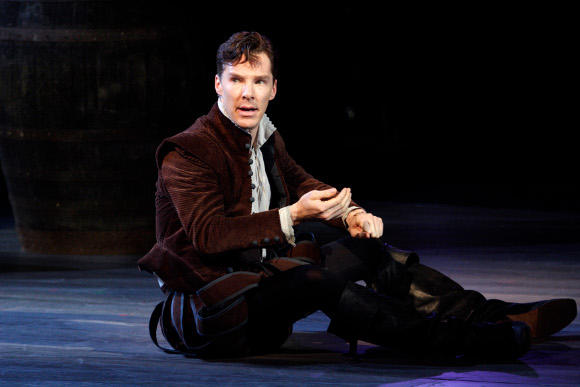 <p>Benedict Cumberbatch as Rosencrantz in <em>Rosencrantz and Guildenstern Are Dead</em> by Tom Stoppard (the play was first performed at the National Theatre in 1967 with John Stride and Edward Petherbridge in the title roles)</p><br />© Catherine Ashmore