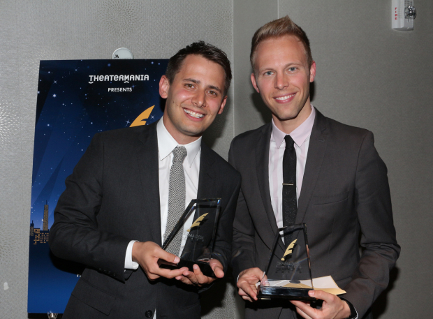 <p>Benj Pasek and Justin Paul</p><br />© David Gordon