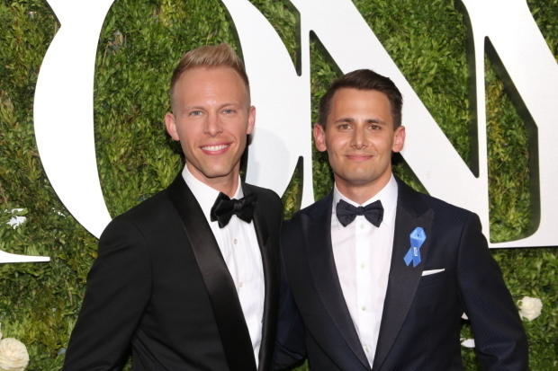 <p>Benji Pasek and Justin Paul</p><br />© David Gordon