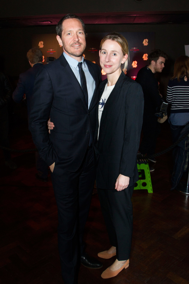 <p>Bertie Carvel and Sally Scott</p><br />© Dan Wooller
