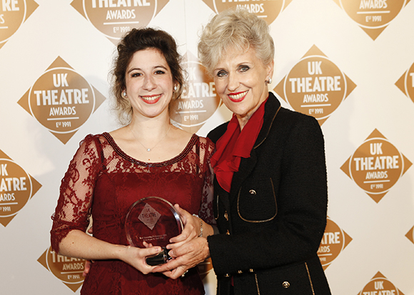 <p>Best Supporting Performance presented by Anita Dobson - Jenna Augen</p><br />© Pamela Raith
