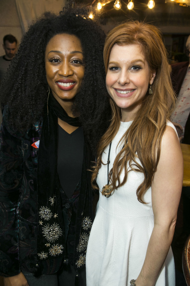 <p>Beverley Knight and Cassidy Janson</p><br />(C) Dan Wooller for WhatsOnStage