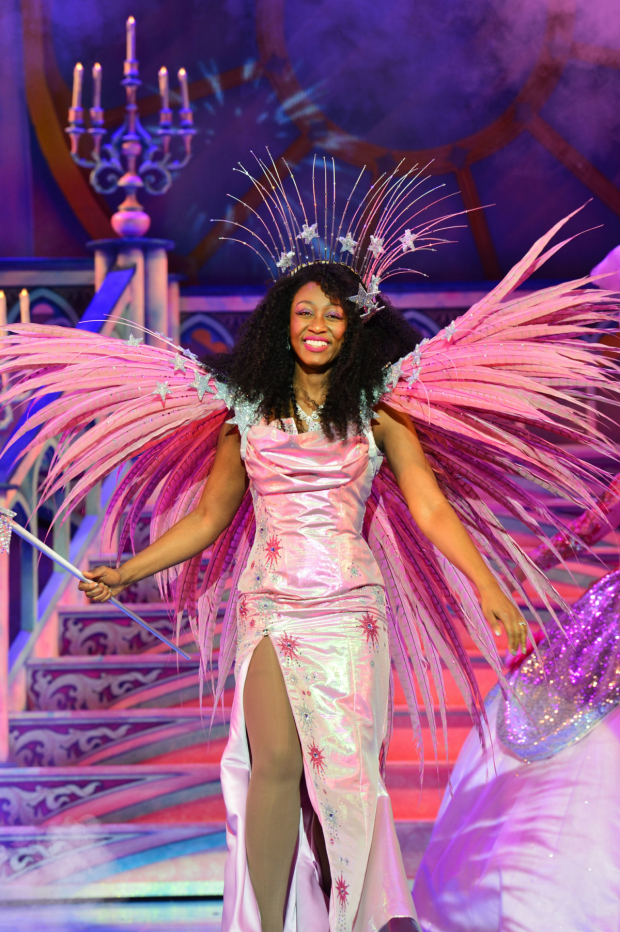 <p>Beverley Knight as The Fairy Godmother in <em>Cinderella</em></p><br />(C) Paul Coltas