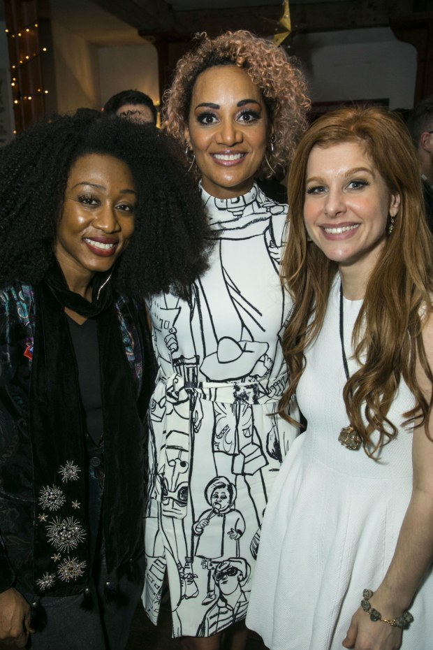 <p>Beverley Knight,  Tupele Dorgu (Joice Heth)  and Cassidy Janson</p><br />(C) Dan Wooller for WhatsOnStage