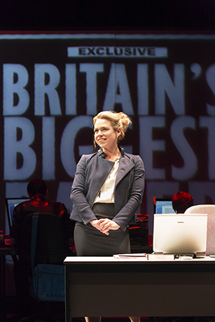 <p>Billie Piper as Paige Britain</p><br />© Johan Persson