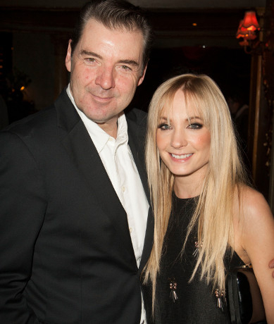 <p>Brendan Coyle with <em>Downton Abbey</em> co-star Joanne Froggatt</p><br />© Dan Wooller for WhatsOnStage