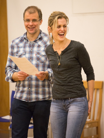 <p>Brendan O&#39&#x3B;Hea and Denise Gough</p><br />© Mark Douet