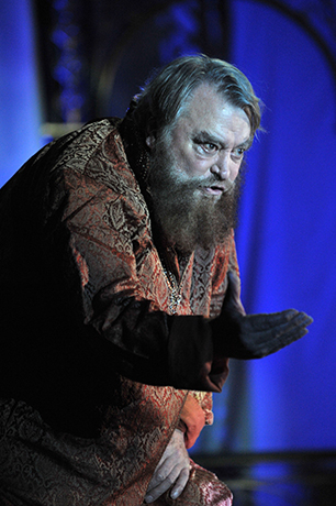 <p>Brian Blessed as King Lear</p><br />© Guildford Shakespeare Company