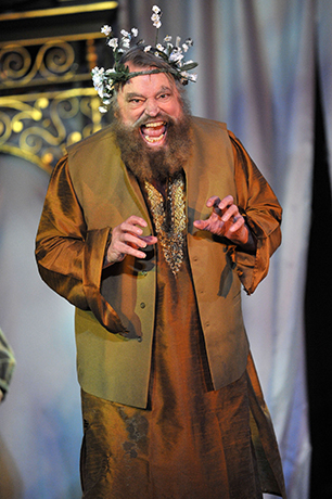 <p>Brian Blessed as King Lear </p><br />© Guildford Shakespeare Company