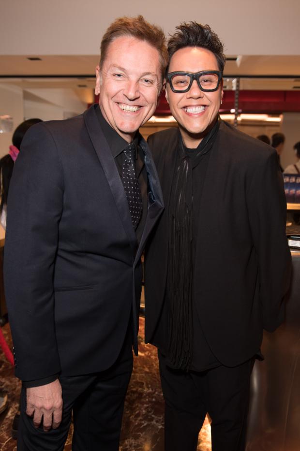 <p>Brian Connolly and Gok Wan</p><br />© Craig Sugden