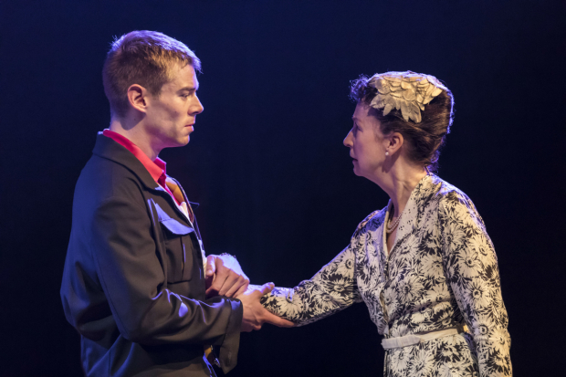 <p>Brian J Smith and Ingrid Craigie  in <em>Sweet Bird of Youth</em></p><br />© Johan Persson