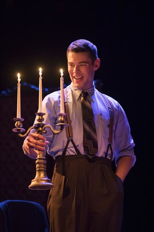 <p>Brian J. Smith as The Gentleman Caller in <em>The Glass Menagerie</em> </p><br />© Johan Persson