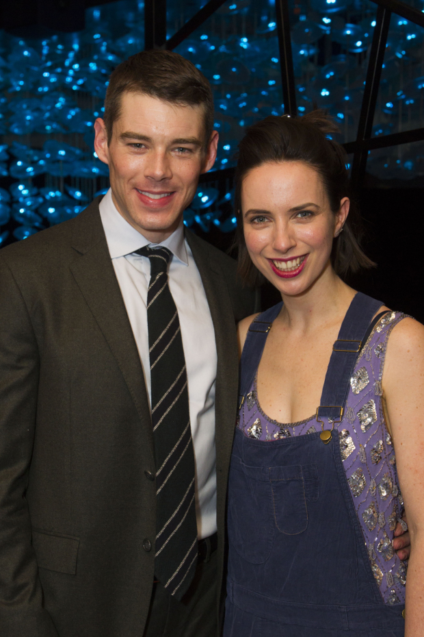 <p>Brian J Smith (Gentlemen Caller) and Kate O&#39&#x3B;Flynn (Laura Wingfield)</p><br />© Dan Wooller for WhatsOnStage