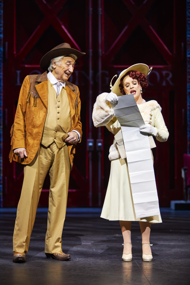 <p>Bruce Montague and Sheena Easton in <em>42nd Street</em></p><br />© Brinkhoff/Moegenburg