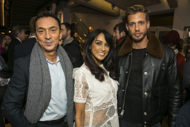 <p>Bruno Tonioli, Jackie St Clair and Matt Law </p><br />© Dan Wooller for WhatsOnStage