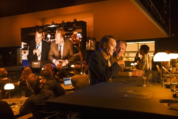 <p>Bryan Cranston and Douglas Henshall in <em>Network</em></p><br />© Jan Versweyveld