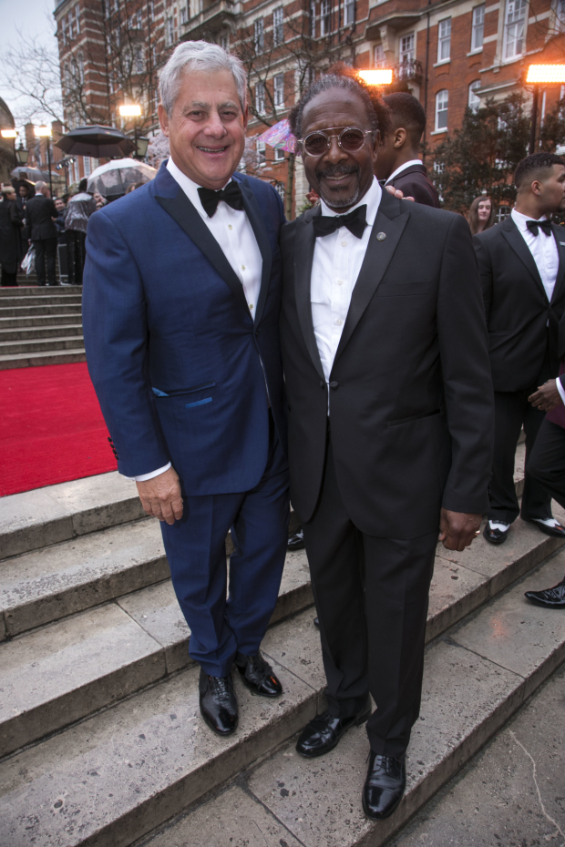 <p>Cameron Mackintosh and Clarke Peters</p><br />© Dan Wooller