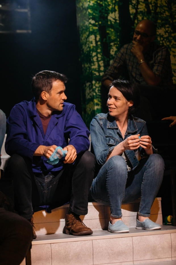 <p>Caoilfhionn Dunne (Suzy) and Jonah Russell (Hans) in <em>Suzy Storck</em></p><br />© Helen Murray