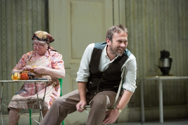 <p>Carol Macready (Marina) and Jason Merrells (Astrov)  in <em>Uncle Vanya</em></p><br />© Jonathan Keenan