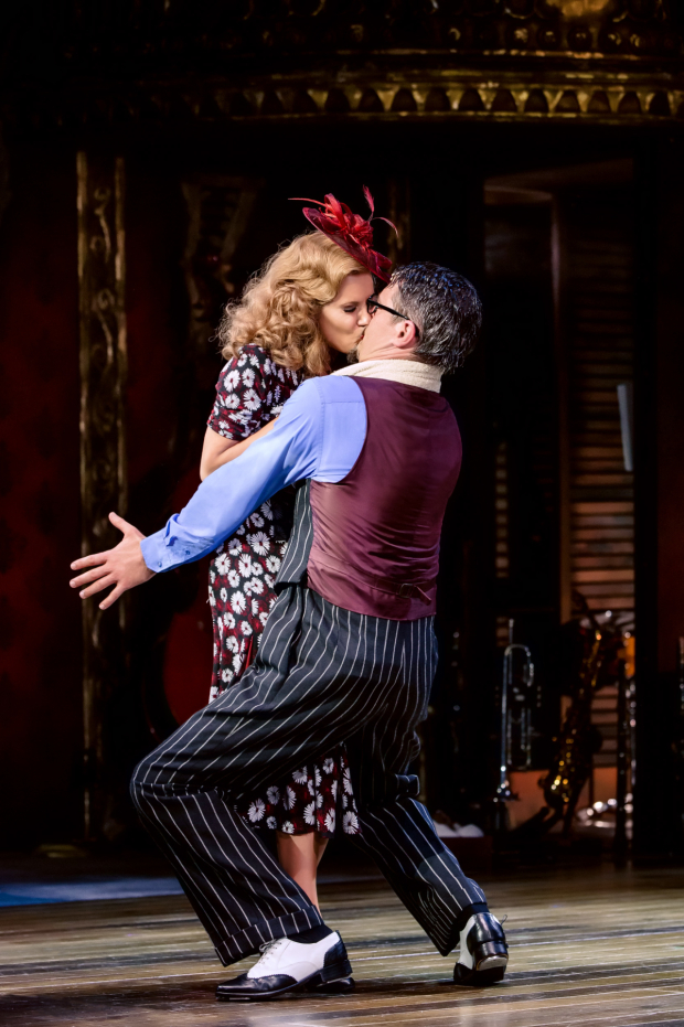 <p>Caroline Flack (Irene) and Tom Chambers (Bobby) </p><br />© The Other Richard