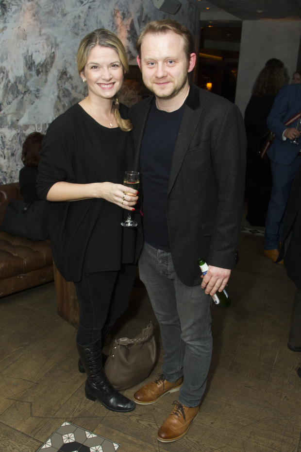 <p>Caroline Sheen and Michael Jibson</p><br />© Dan Wooller for WhatsOnStage