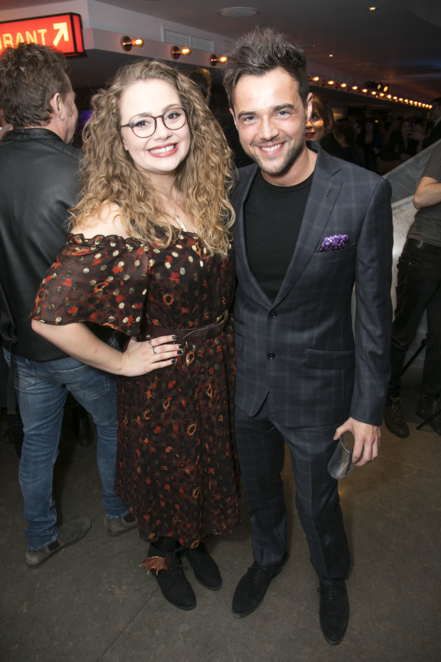 <p>Carrie Hope Fletcher and Ben Adams (author, music, lyrics)</p><br />© Dan Wooller