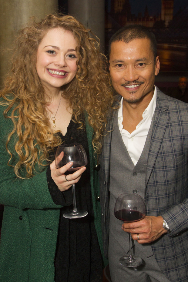 <p>Carrie Hope Fletcher and Jon Jon Briones</p><br />© Dan Wooller