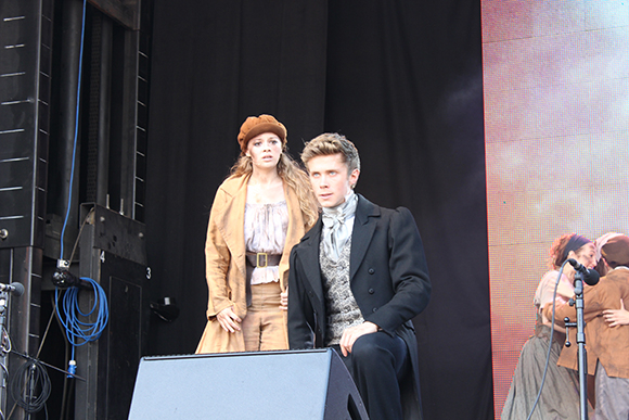 <p>Carrie Hope Fletcher and Rob Houchen from <em>Les Miserables</em></p>